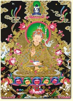 Tara blanca indonesia art pinterest add a padmasambhava thangka altar card to your collection of scared objects fandeluxe Images