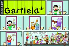 Garfield | Daily Comic Strip on June 4th, 2017