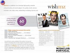 Site: http://www.wishclubportugal.com.pt/ E-mail: wishclubportugal@wishclubportugal.com.pt  Wishclub Multi Level, Marketing Digital Backmidia, Allshop Ecommerce Clothing and Shoes Discount and Promotions, Shopcon, Wish Magazine Car Magazine and Women's Magazine, Advertising Sales and Merchandising, Ads and Agencies