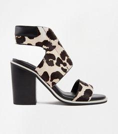 SENSO Pony-style Calfskin Heels