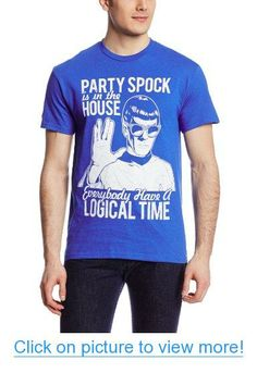 Star Trek Men's Star Trek Party Spock T-Shirt
