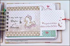 Jardinet de paper Scrapbooking: Álbum scrapbooking para bebe niña