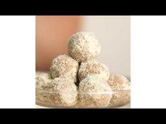 Karamelové kuličky s ořechy - YouTube Krispie Treats, Rice Krispies, Youtube, Christmas, Food, Xmas, Eten, Weihnachten, Yule
