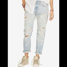 Ralph Lauren Bloomfield distressed jean capris Brand new with $165 tags. Sizes available: 26 & 28 and 30. Super adorable! Cuff them, roll them, wear them all the way down, it's totally up to you! Sold out everywhere online. Ralph Lauren Denim & Supply brand. Ralph Lauren Jeans Ankle & Cropped