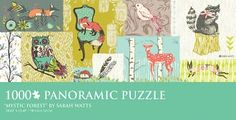 How cute is this Puzzle by Sarah Watts?! Available at Barnes & Noble!
