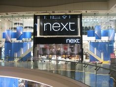Remote Operated Raft Systems in use at the NEXT store in Westfield White City