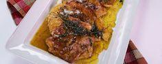 Ham & Turkey Cutlets with Gravy