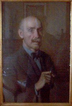Winner: Archibald Prize 1933 Charles Wheeler Title  :      Ambrose Pratt Medium  :      oil