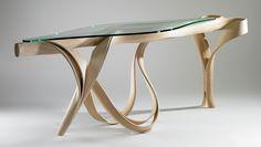 Sculptural Wooden Furniture by Joseph Walsh