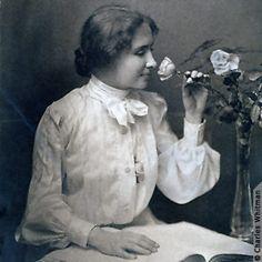 Helen Keller.