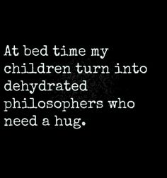 Too funny!  Dehydrated philosophers who need a hug  :-D
