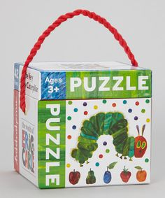 Perfect for clever cuties, this precious puzzle set features artist and author Eric Carle's familiar illustrations and serves as a lovely introduction to his characters. Made from durable material, the pieces are ideal for small hands to hold and adorably arrange!Includes 42 puzzle piecesIllustrated by Eric CarleCardboa...