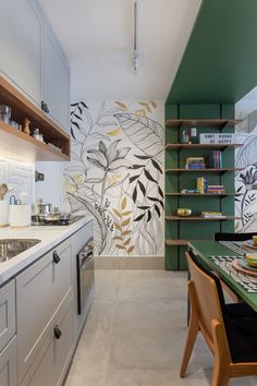 80+ Unusual Kitchen Design Ideas for Small Spaces in 2021 published in Pouted Magazine Interiors - It is not uncommon to think about kitchens with high ceilings and oversized windows for some light of nature. However, it is common to have to make-do... - - #CreativeIdeasforSmallKitchens #kitchenideasforsmallspaces #smallkitchens #smallkitchensdesigns #unusualkitchendesignideas #styles #love... Home Decor Kitchen, Diy Home Decor, Room Decor, Wall Decor, Kitchen Ideas, Kitchen Interior, Küchen Design, Home Design, Design Ideas