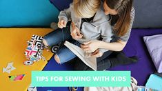 Sewing is wonderful hobby for adults and kids alike. Get our best tips on how to share the joy of creating with your kids! Sewing Tips, Sewing Hacks, Hobbies For Adults, Sewing For Kids, Joy, Being Happy