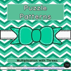 Enjoy this fun way to practice multiplication, with fun interactive puzzles that can be used as a whole class, small group, or enrichment activity. $1