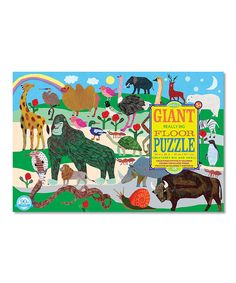 Monika Forsberg Creatures Big and Small Giant Puzzle