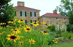 Thomas Worthington old historic home in Ohio - Adena - designed by Benjamin Henry Latrobe