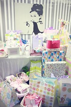 """pinterest baby shower ideas breakfast at tiffanys   29: Breakfast at Tiffany's / Baby Shower/Sip & See """"Sueann & CO. Baby ..."""