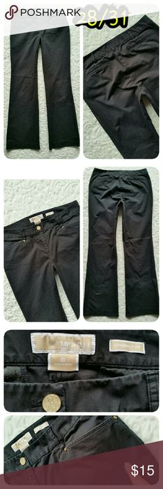 MICHAEL KORS BLACK PANTS Sz 6 gramercy fit Excellent condition minus a small blemish on upper thigh (see last pic ) Michael Kors Pants Boot Cut & Flare