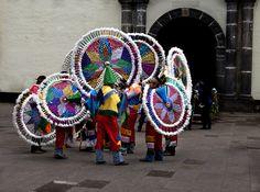 Danzantes Quetzales. Puebla México. Copyright © Carlos Alberto Martinez Gonzalez 2014 All Rights Reserved