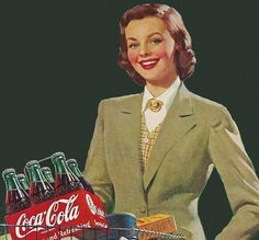 1951 Coca Cola advertisement.
