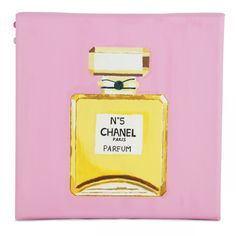 Biha Designs: Canvas Painting - Chanel No.5 Perfume Mini