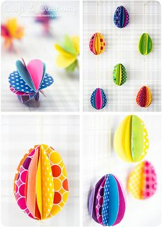 Paper eggs | Flickr - Photo Sharing!