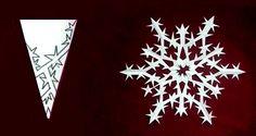 8 tipů na originální sněhové vločky z papíru |