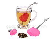 Silicone Arrow-Heart Tea Blending Infuser