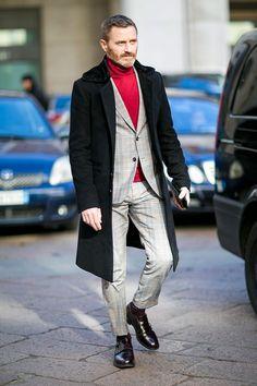 Street style roundup: Milan men's week.
