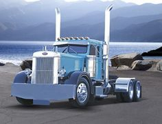 """Old Peterbilt 