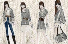 Fashion Design. Knitwear Design by Asa Benally, via Behance