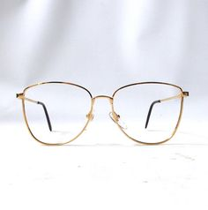 0556d464def vintage 1980 s round eyeglasses prescription by RecycleBuyVintage Wire Frame  Glasses