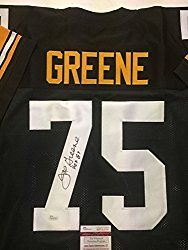 76a7ee7949c Autographed Signed Mean Joe Greene