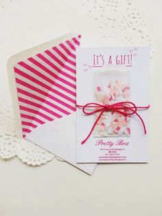 Pretty Box gift card by Ghirlanda di Popcorn