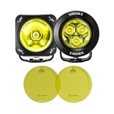 Selective Yellow Replacement Lens Kit – Vision X Off-Road White Beams, Jeep Accessories, Jeep Gladiator, Rubicon, Replacement Lenses, Jeep Wrangler, Cannon, Kit
