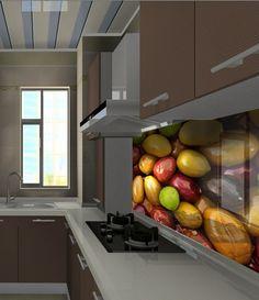 Panele szklane z motywem przypraw- idealne do kuchni