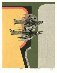 08 Fumio Fujita born 1933 - Flying - E by 50 Watts, via Flickr