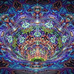 Anthropomorph Vortex... DeepDream remix