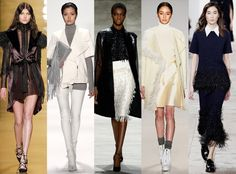 Fringe Benefits from Biggest Trends at New York Fashion Week Fall 2015  The only thing bigger than fur trim for fall-winter 2015 is strategically-placed fringe.