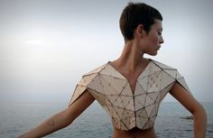 Prototype Triangle Numero 1 T-shirt made from wood