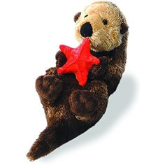 d33b82d81 Aurora Stuffed Plush Animal Mini Flopsie 8 Starfish 16620 Otto The Sea Otter