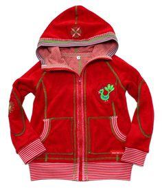 Jacken - Sweatjacke Gr. 110/116 BANDITO Truschinella - ein Designerstück von mynata bei DaWanda