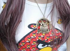 The Roosting Owl Necklace from www.JewelryLP.com #jewelrylp #jewelry #owls #necklace #gifts #fashion #womensfashion #retro