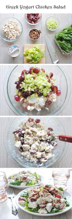 Greek Yogurt Chicken Salad   Recipe Sharing Community