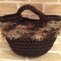 zpagettiワイルド&キュートマルシェバッグ Crochet Bags, Knit Crochet, Minne, Diy And Crafts, Knitting, Handmade, Bags, Patterns, Crochet Purses