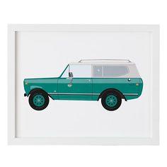 Classic Car Wall Art   The Land of Nod  #NodWishlistSweeps