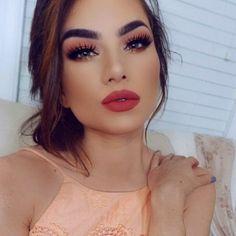 Makeup primaveral para morenas