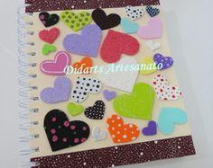 cadernos e agendas personalizadas
