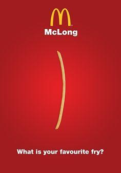 McDonalds Fries Campaign by Ricky Richards, via Behance